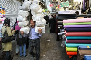 بازار پارچه تهران